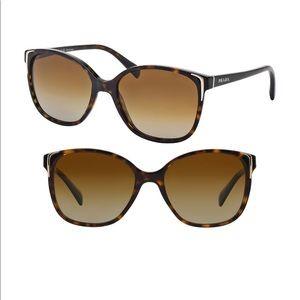 PRADA polarized cateye sunglasses